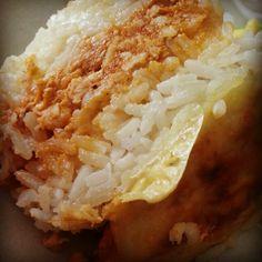 Pastelon de arroz y pollo!