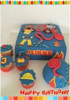 Brandweerman Sam cake