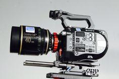 Sony PXW-FS7 x Cooke S5i 40mm lens.