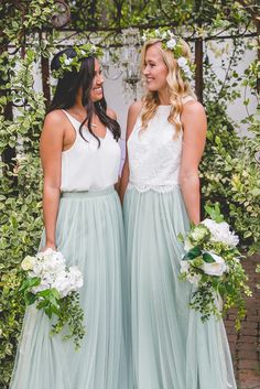 Tulle Bridesmaid skirt with three layers of tulle that comes in four lengths and over thirty different colors