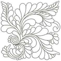 Hand quilting motifs fabrics 70 ideas for 2019 Quilting Stencils, Quilting Templates, Longarm Quilting, Free Motion Quilting, Quilting Ideas, Image Stitching, Quilt Stitching, Embroidery Online, Embroidery Patterns