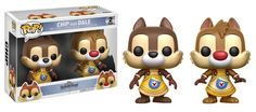 POP! Disney #265: Kingdom Hearts: CHIP AND DALE [2 PACK]