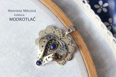 Nová kolekcia šperkov s tematikou MODROTLAČE  #handmade #sperky #rucnapraca #Modrotlac #folk #folklor #striebro #silver #tradicia