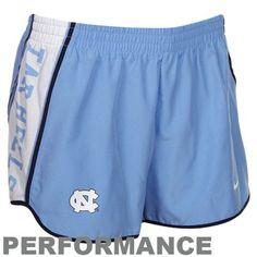 Nike North Carolina Tar Heels (UNC) Carolina Blue Pacer Performance Shorts