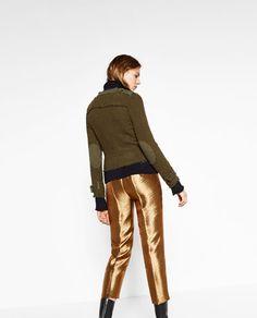Immagine 4 di PANTALONI LUCIDI di Zara