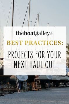 We had to haul the boat out to do a series of routine (but important) jobs on the boat. Here's what you may have to look at before setting off cruising. Boat Projects, Big Project, Over The Years, Routine, Cruise, How To Apply, Adventure, Cruises, Adventure Movies