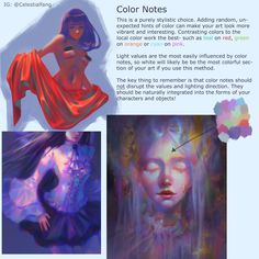 """""""My methods for coloring! Please share with friends who would find this helpful 🌈 (Continued below) Digital Painting Tutorials, Digital Art Tutorial, Art Tutorials, Drawing Tutorials, Art Sketches, Art Drawings, Painting Illustrations, Drawing Faces, Illustrator"""