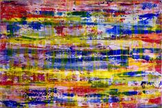 ARTFINDER: Cathartic Dusk by Nestor Toro - Bold paint strikes, layered effects, fast color shifts and organic shapes. For this piece I did lots of color blending, placed layers of transparent paint to...