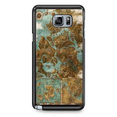 The Witcher Map TATUM-11155 Samsung Phonecase Cover Samsung Galaxy Note 2 Note 3 Note 4 Note 5 Note Edge