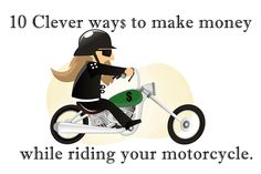 #1 Motovlogging The first way to make some cash while out riding around on your motorcycle is to film yourself, the road, or both while doing it. It's called Motorcycle Video Blogging or MotoVlogging. By strapping on cameras to your bike or attaching them to your helmet, you can document your journey. The key for …