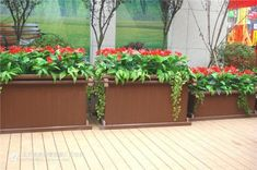How the wpc flower box decorate your garden or park?If you have any need on it ,you can contact me.