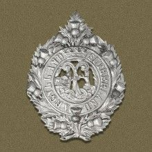 The Argyll and Sutherland Highlanders Badge   The Queen was named Royal Colonel of the Argyll and Sutherland Highlanders on her 21st birth...