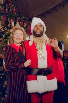 Mr. T & Nancy Reagan
