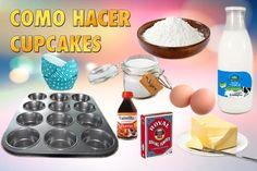 Como hacer cupcakes paso a paso