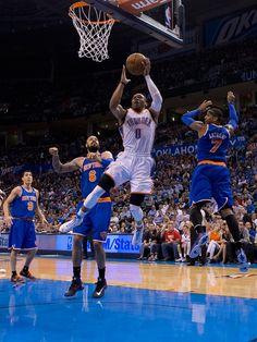 Thunder vs. Knicks: April 7, 2013 | THE OFFICIAL SITE OF THE OKLAHOMA CITY THUNDER