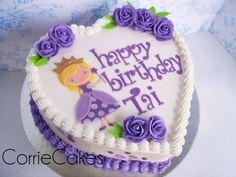 Purple princess - Cake by Corrie