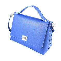 Leather satchel blue china