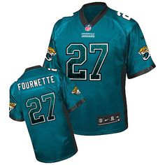 Nike Jaguars  27 Leonard Fournette Teal Green Team Color Men s Stitched NFL  Elite Drift Fashion d7243542d