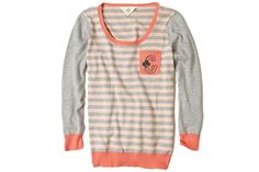 12 Super Sweet Monogrammed Finds for Fall: Anthropologie Sweater, $98.
