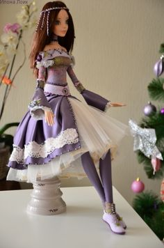 Кукла Саша — Интерьерные Куклы ooak dolls, art dolls clay, hand made dolls