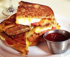 47 Scott grilled cheese celebrated