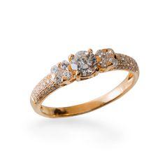 Ouro com diamantes da MONTECRISTO JOALHERIA, fotografado por Andre Jung.