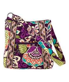 Love this Plum Crazy Hipster Crossbody Bag by Vera Bradley on #zulily! #zulilyfinds