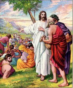 Mateo 14:13-21  Alimentación de los cinco mil.♔