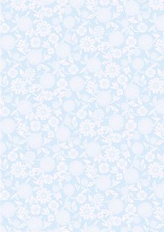 Floral lace on a pale blue background.  After this was pinned, carmenrabazo.com removed all their pretty papers.  I can save these images, resize them on the computer,  and print them.