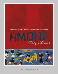 Hmong story cloths provide a visual documentation of the historical and cultural legacy of the Hmong people from the country of Laos. The Hmong first began making the story cloths in refugee camps, and featured here are 48 vibrant story cloths that provide a comprehensive look at their lives and culture. Augmented with personal stories and artifacts, this book is perfect for history buffs and textile artisans alike. Visit to find out more!