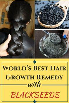 Black seeds, a magical ingredient to boost your hair growth .- Black seeds, a magical ingredient to boost your hair growth Black seeds, a magical ingredient to boost your hair growth - Extreme Hair Growth, Hair Growth Tips, Hair Care Tips, Faster Hair Growth, Black Hair Growth, Natural Hair Care, Natural Hair Styles, Hair Remedies For Growth, Hair Serum