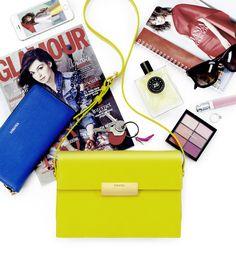 This season's must-have juicy-lemon Livia bag! #LaMania