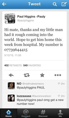 so...is this why everyone is freaking out? directioners were calling paul or something. Is this what nialls tweet was about? So many question lol. Bad idea paul, bad idea.