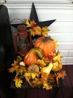 Fall dispay
