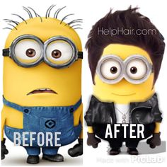 My kids love minions. Especially with hair.