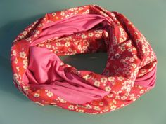 Tuto « Snood   de   printemps »  By PIQUE & pique & colle & gramme