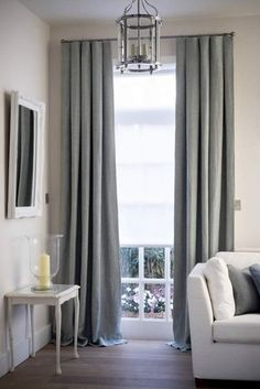 Sheer curtains or simple unlined linen curtains are the perfect finishing touch to a room. Find out all the tips to help you to choose the right ones for your room. Family Room Curtains, Home Curtains, Curtains Living, Curtains With Blinds, Sheer Curtains, Window Curtains, Sheer Blinds, Drapery, Family Rooms