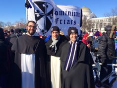 Dominican Friars for Life #whywemarch #windchillforLife