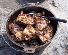Dutch Oven Cooking (with recipes)!  Wanna be better at it, and rule the camping kitchen? #Camping #cooking #outdoors