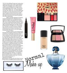 """Normal Make up (M. #1)"" by juliettemeunier on Polyvore featuring beauty, Guerlain, MAC Cosmetics, Lancôme and Yves Saint Laurent"