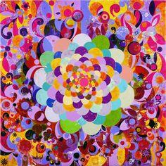 O moreno, 2005 | tinta acrílica sobre tela | 299,0 x 299,5 cm | Coleção particular  (Foto: Stephen White | Cortesia da Stephen Friedman Gallery)