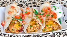Chicken Recipes : Chicken Burritos Recipe