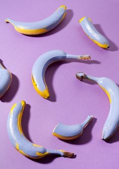 Creative Compostition, Styling, Viii, Lauren, and Hillebrandt image ideas & inspiration on Designspiration Pastel Yellow, Purple Yellow, Subtractive Color, Banana Art, Food Wallpaper, Wall Collage, Picture Wall, My Favorite Color, Aesthetic Wallpapers