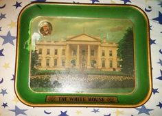 White House vintage Beer Serving Tray FDR
