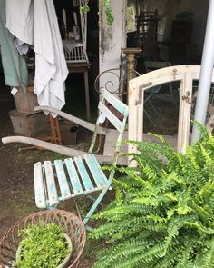 Outdoor Plants, Outdoor Chairs, Outdoor Furniture, Outdoor Decor, Home Decor, Garden Chairs, Interior Design, Home Interior Design, Yard Furniture