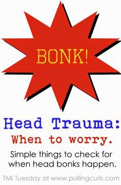 Head Trauma in Children @ Pulling Curls