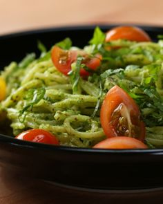 Vegan Pesto Pasta #VeganFridays