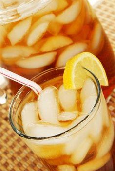 Лимонно-мятный ледяной чай