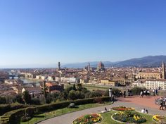 Italy- Firenze, piazzale Michelangelo
