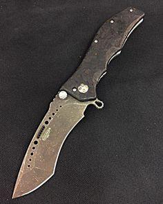 Special build Gun Hammer Shred Carbon Fiber A Washed Radian Blade!
